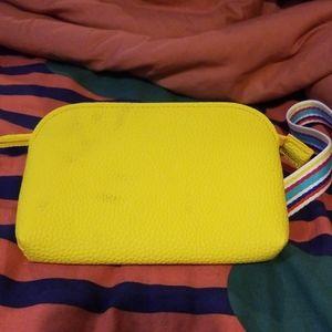 Nordstrom yellow rainbow belt belt bag